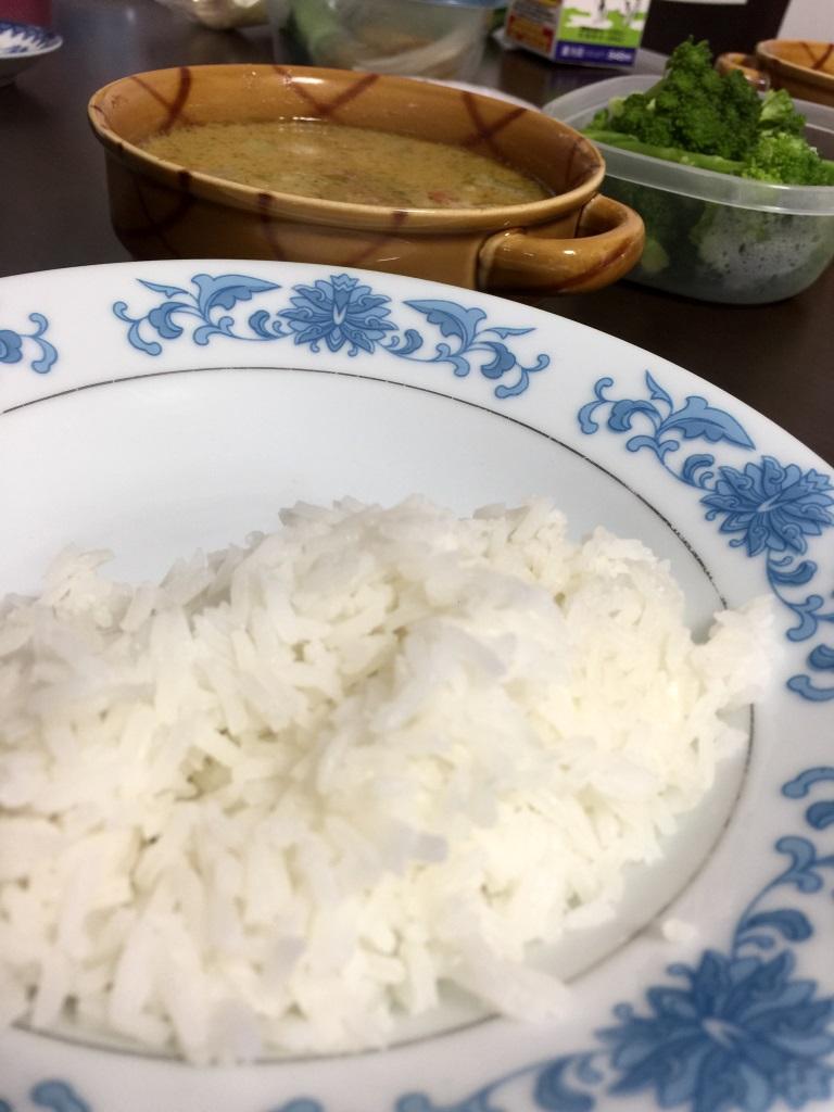 タイ米炊飯